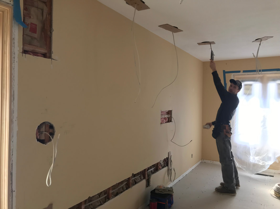 Electrical Rough In On House Remodel In Shawnee County